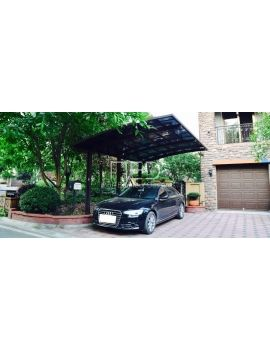 Carport WAVE aluminium design